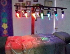 Crystal color light Reiki bed, OMG! This was incredible.