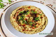 Tahini, Lentils, Hummus, Ethnic Recipes, Food, Green, Homemade Hummus, Meal, Essen