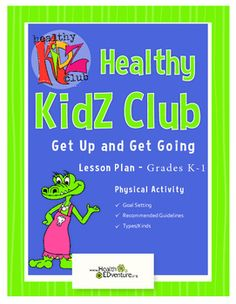 This Health EDventure lesson provides students with a definition of and ideas for exercise, as well as a basic understanding of the benefits of daily physical activity. The Physical Activity Guidelines for Americans recommends that children participate in at least one hour of physical activity each day.Content area: Physical Activity - Goal Setting, Recommended Guidelines, Types/KindsStudents learn the benefits of exercise by completing a training camp exercise activity each day for five…