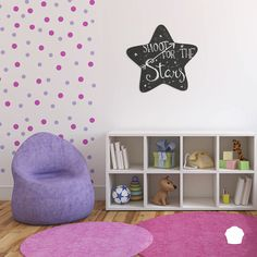 Ideaboard star @ http://store.muffin.rs #idea #design #ideaboard #chalkboard #chalk #star #shootforthestars #home #homedecor #kids #kidsroom #interior
