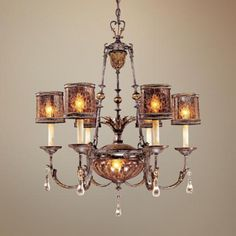 "30 "" wide $900 lamps plus Metropolitan Sanguesa 8-Light Chandelier"