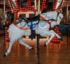 These photos were taken of the Great Plains Cathedral in Helena, Montana. ~ Great Plains Carousel 16 by ~Falln-Stock on deviantART Carosel Horse, Helena Montana, Wooden Horse, Painted Pony, Great Plains, Merry Go Round, Zebras, Beautiful Horses, Fantasy
