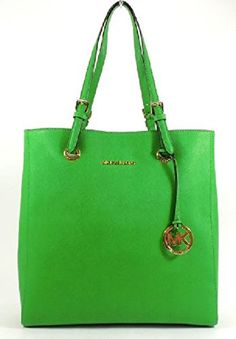 Michael Kors Jet Set North South Multifunction Tote in Palm