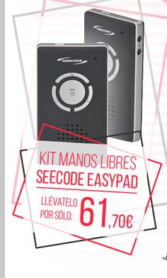 #Kit Manos Libres Seecode Easypad.    http://www.opirata.com/es/manos-libres-seecode-easypad-p-14260.html