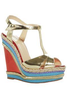 55fb1ddc299 Christian Louboutin Marina Liege Wedge Sandal l Vaunte Shoes Heels Boots