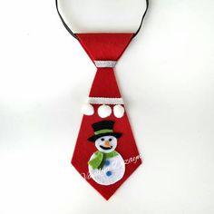 Kardan adam yeni yıl kravat