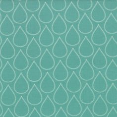 April Showers - Bonnie and Camille for Moda - Raindrops in Teal - Half Yard