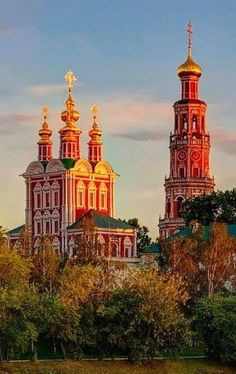 Novodevichy Convent, Moscow, Russia.