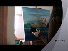 America Let my People Go oil painting time-lapse by Natalie Buske Thomas