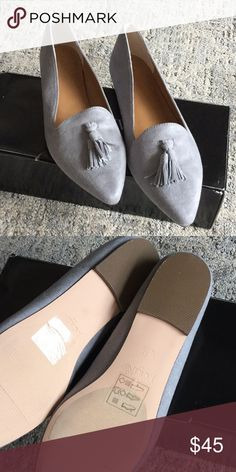 9e4bf094cec Microsuede tassel loafers Perfect for jeans or office slacks. Beautiful and  stylish. J.