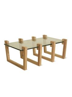 Clamp Rectangular Coffee Table by Phillips Collection on Gilt Home