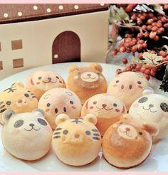 ADORABLE animal bread!