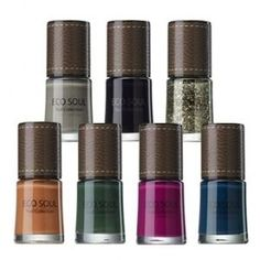 Leather Bag Nail Collection via Fashionista Secret Shop. Click on the image to see more!