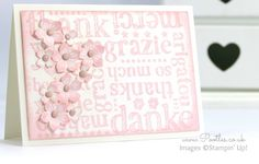 Stampin' Up! Demonstrator Pootles - A World of Thanks in Pink Pirouette