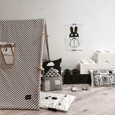 petitecandela: BLOG DE DECORACIÓN, DIY, DISEÑO Y MUCHAS VELAS: Blanco y negro para peques: habitaciones geniales
