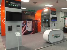 Vision Exhibition stand we designed for TrustPilot. Exhibition Stand Design, Display, Building, Floor Space, Exhibition Stall Design, Billboard, Buildings, Architectural Engineering