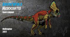 Jurassic World: Microceratus by Hellraptor
