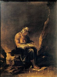 Salvator Rosa - La Strega (The Witch) circa 1646
