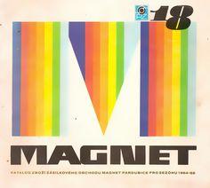 Magnet - zásilkové zboží Magnets, Retro, Logos, How To Make, Art, Art Background, Logo, Kunst, Performing Arts