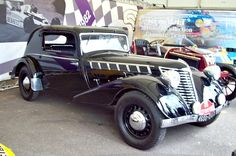 1935 Renault Nervasport 4.8 Two-Door Coupe. with a Straight-Eight Cylinder 4.8L Side-Valve Engine