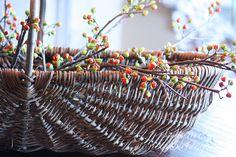 StoneGable ~ Fall gathering basket