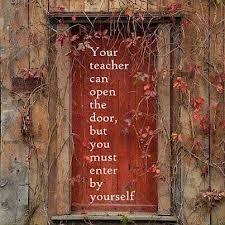 Yep. Good saying to put on the classroom door.