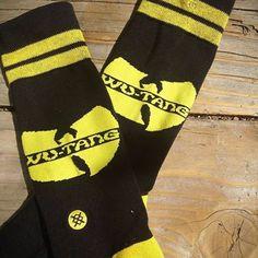 Bring Da Ruckus! #wutang #theuncommonthread #instance #socks @Stance