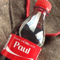 Share a Coke with Paul #takenbyPaul