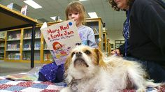 Therapy Dogs Helps Young People Learn to Read