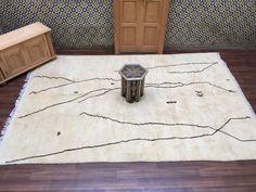 Large 100% authentic Handmade Beni Ouarain by Beniouraincarpets