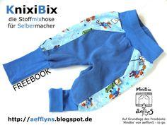 Heute wieder ein wunderschönes Hosen Freebook für Kinder bei uns zu Gast. Lasst die Nähmaschinen rattern.