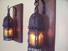$50 for 2 https://www.etsy.com/listing/254010888/lantern-pair-wall-decor-moroccan