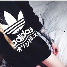 sweater adidas japan adidas black