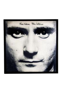 Phil Collins Face Value on HauteLook