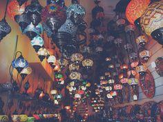 Went into lamp heaven. Little shop in camden Market. Moroccan marrakech