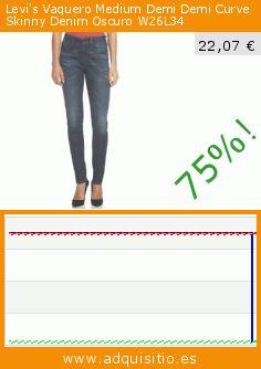 Levi's Vaquero Medium Demi Demi Curve Skinny Denim Oscuro W26L34 (Ropa). Baja 75%! Precio actual 22,07 €, el precio anterior fue de 89,95 €. https://www.adquisitio.es/levis/vaquero-medium-demi-demi-28