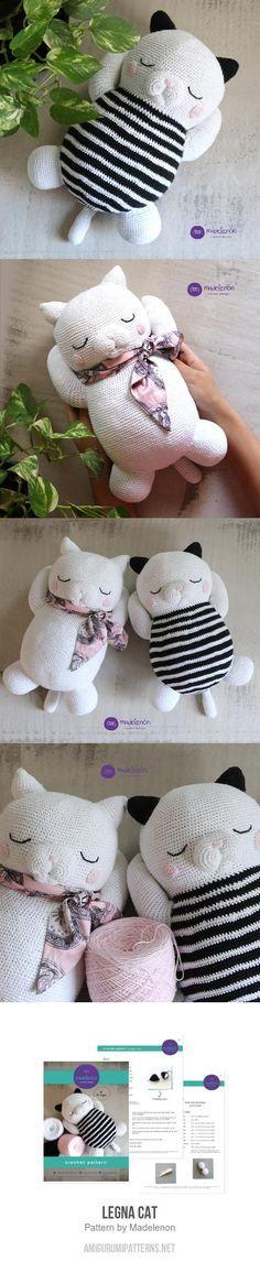 Legna Cat amigurumi pattern