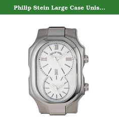 Philip Stein Large Case Unisex Quartz Watch - 2-NCW. Philip Stein Large Case Unisex Quartz Watch - 2-NCW.