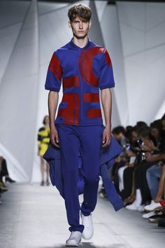 Lacoste Spring/Summer 2015 - New York Fashion Week Live Fashion, New York Fashion, Runway Fashion, Fashion Show, Fashion Looks, Men's Fashion, Fashion Week 2015, Spring Summer 2015, Lacoste