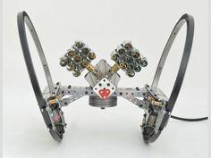 Meccano Star Wars Hailfire Droid by Stefan Tokarski