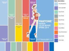 Pantone Spring Colors 2014