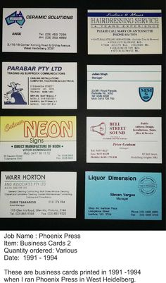 One and two colour printing was standard back in the early 1990's.