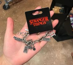 every ST fan would want this. every ST fan would want this. Stranger Things Jewelry, Stranger Things Merchandise, Stranger Things Quote, Stranger Things Aesthetic, Stranger Things Season, Stranger Things Netflix, Starnger Things, Things To Buy, Jewlery