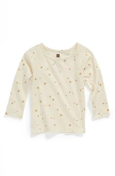 Cute gold stars for cute tots.