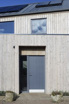 Sioo coated Scotlarch® cladding in RW014 & RW125 Profiles - Private property, East Lothian