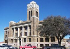 Cleburne TX - Johnson County Courthouse