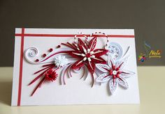 Beautiful for Christmas cards, I want to try that as soon as I get to a crafts store!