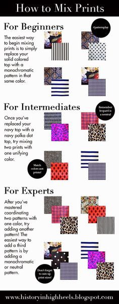 how to mix prints More