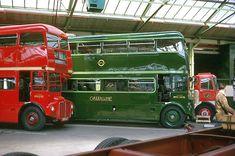 AEC WORKS JULY 1962 RM 1292 & RMC 1456 London Bus, West London, Routemaster, Double Decker Bus, London History, Bus Coach, London Transport, Busses, Coaches
