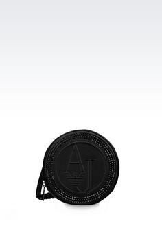 Schultertasche Für Sie Armani Jeans - UMHÄNGETASCHE AUS SATIN Armani Jeans Offizieller Online Store